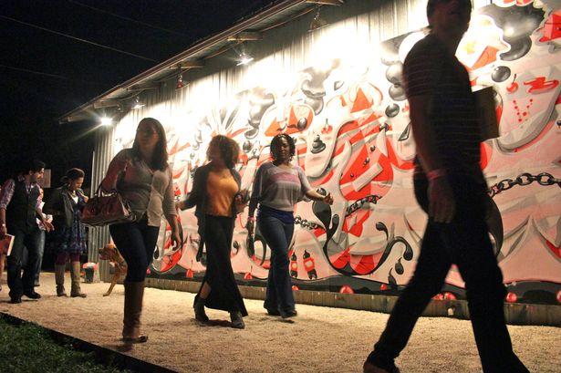 Art Night EAST 2012, photo credit Jenni Jones