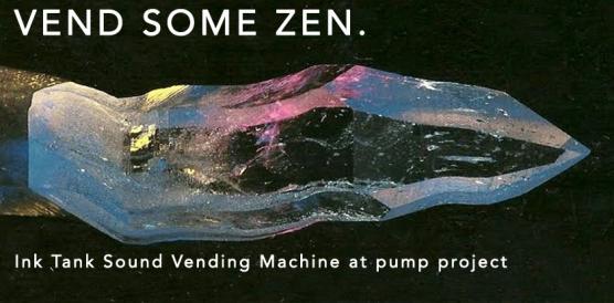 Vending Machine: Ink Tank