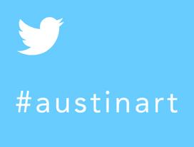 twitter #austinart sidebar