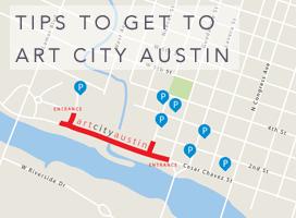 getting to Art City Austin 2015