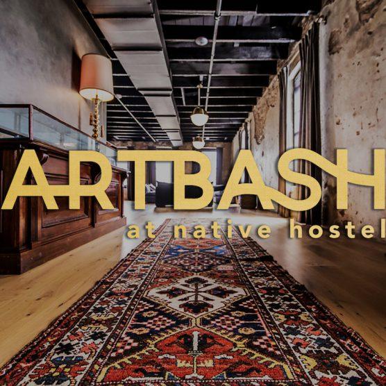 ARTBASH at native hostel
