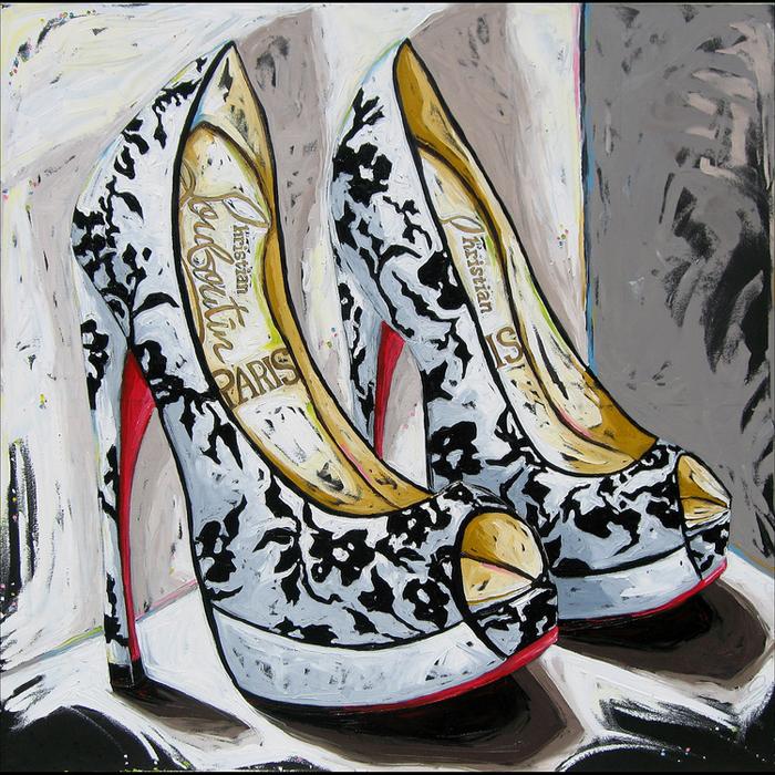 Julia Gilmore - Louboutin Shoes