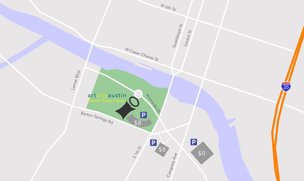 Palmer Parking Map