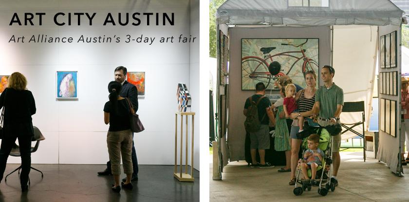 Art City Austin and Art City Fair 2017 home page button