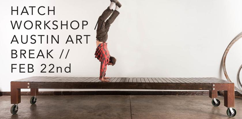 Art Break with Hatch Workshop, February 22nd