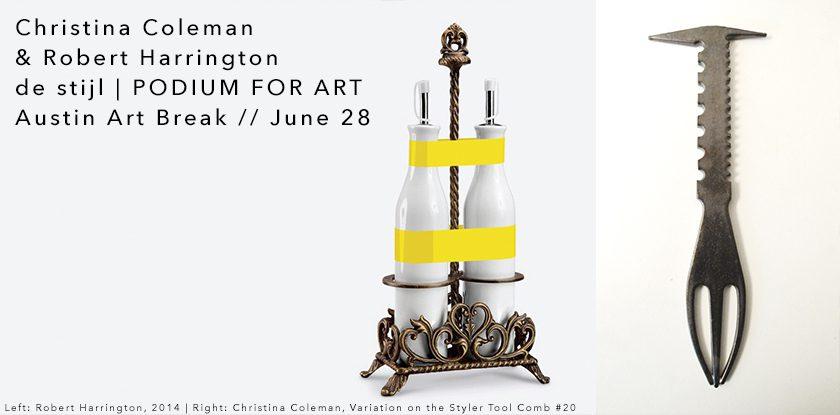 Art Break with Christina Coleman & Robert Harrington