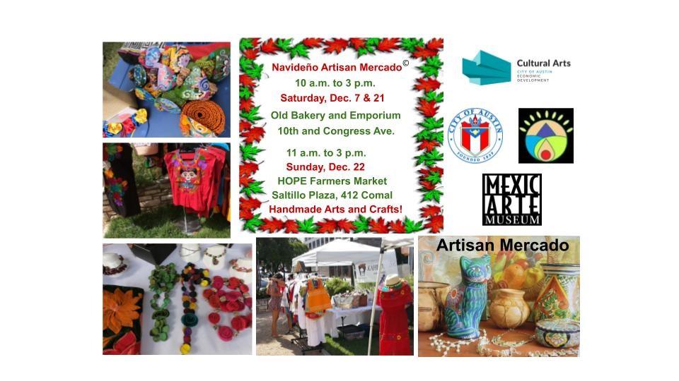 The Navideño Artisan Mercado is here!